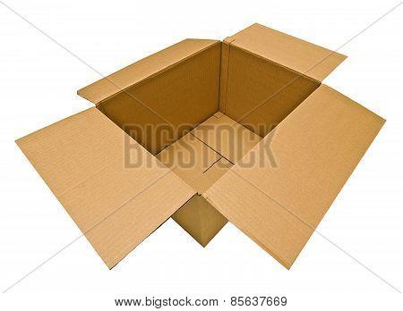 Empty Opened Box