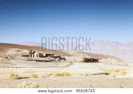 First Settlers' House In Death Valley, Usa