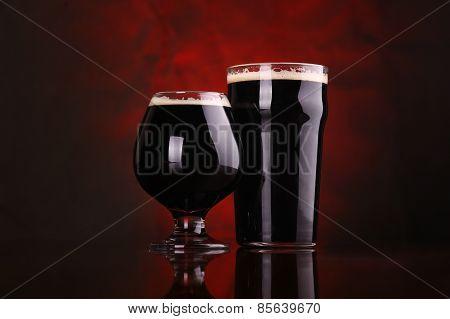 Dark Stout Beer