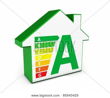 Green Energy House Icon