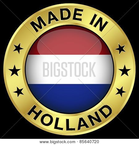 Holland Made In Badge