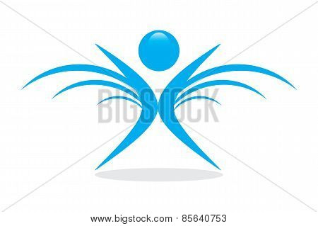 Blue Winning Human