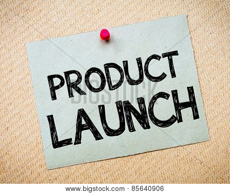 Product Launch Message