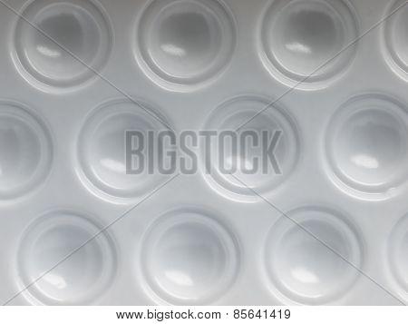Plastic dimples macro