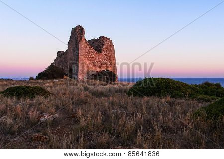 Ancient Collapsed Tower