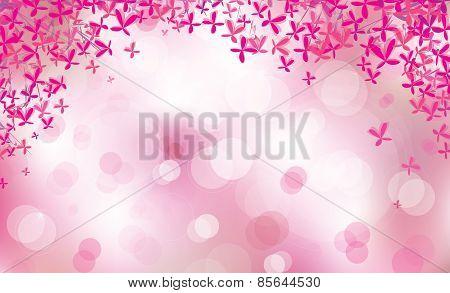 Vector pink background.