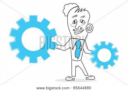 Vector Human Business Man