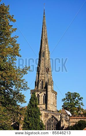 Church Spire, Ashbourne.