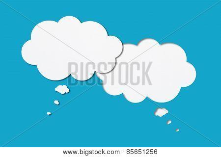 Blank Speech Bubbles (male-female)