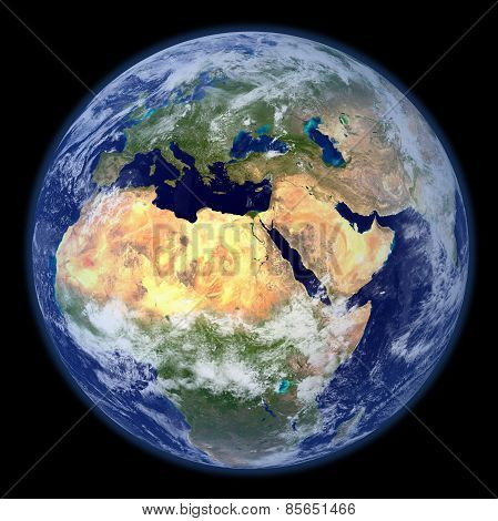 3D Rendered Earth