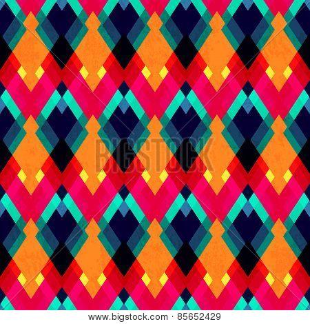 Bright Zigzag Seamless Pattern