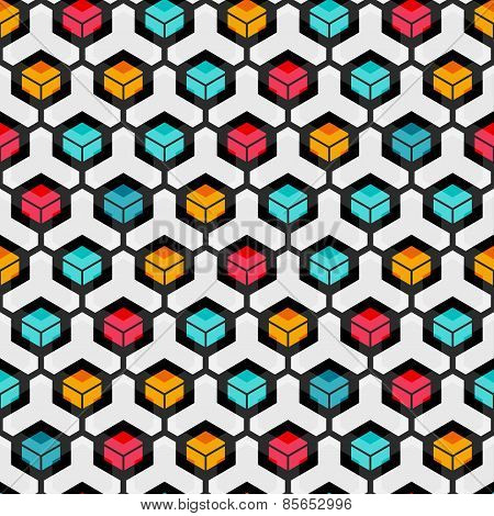 Cell Seamless Pattern