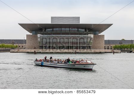 Copenhagen, Denmark - May 14, 2011  Opera House one of the most modern opera houses in world