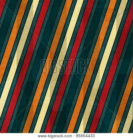 Color Line Seamless Pattern