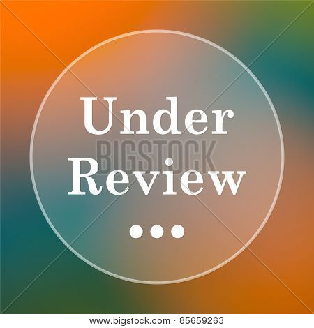 Under Review Icon