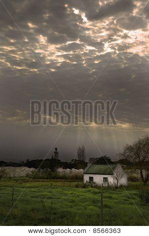 Rural abandoned house