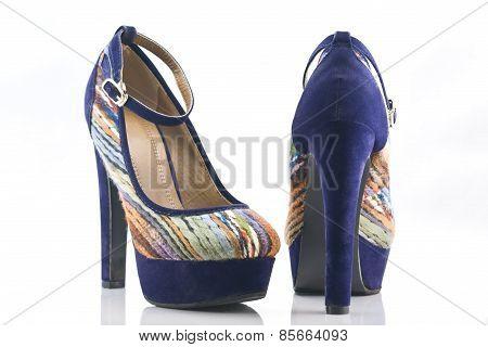 Velvet High-heel