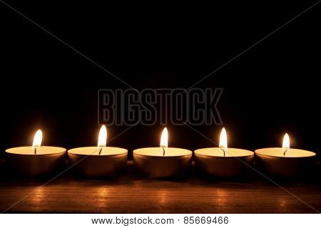 Candles Border