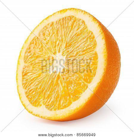 Sliced juicy oranges