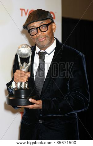 LOS ANGELES - FEB 6:  Spike Lee at the 46th NAACP Image Awards Press Room at a Pasadena Convention Center on February 6, 2015 in Pasadena, CA