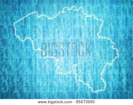 Belgium Administrative Divisions
