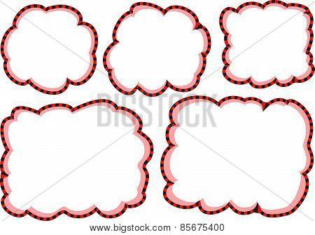 vector drawing cartoon speech bubble