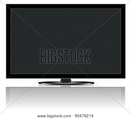 Tv with shadow