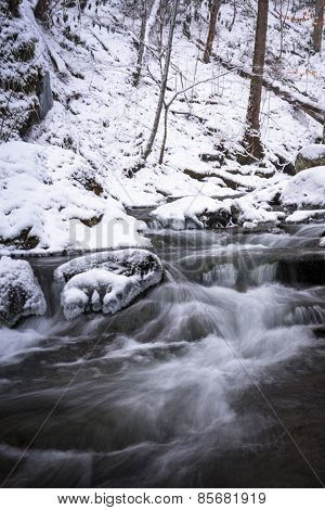 Smoky Mountain Winter Stream 3