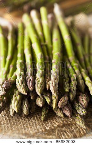Organic Raw Green Asparagus