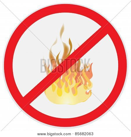 Fire, prevention, sign