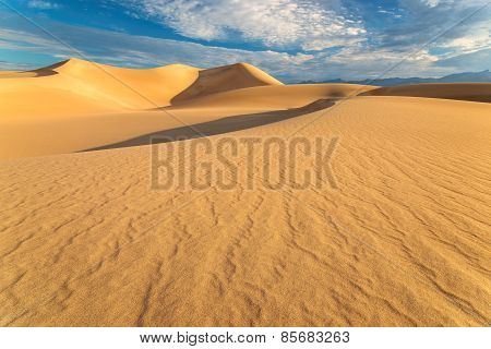 Sunrise in Sand Dunes