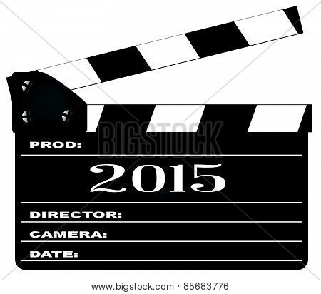 2015 Clapperboard