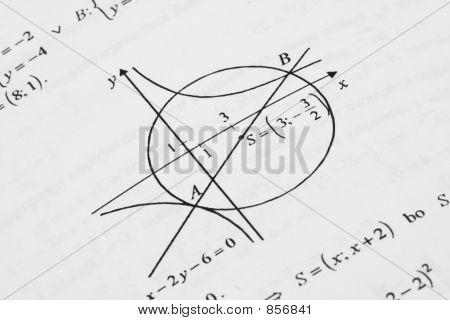 Постер, плакат: Математика, холст на подрамнике