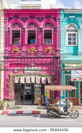Colourful Shophouse