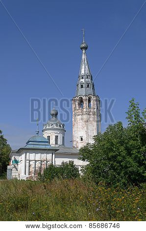 Old Orthodox Church In Middle Russia