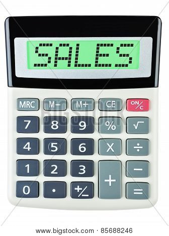 Calculator With Sales