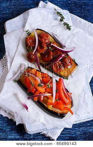Eggplant With Vegetables