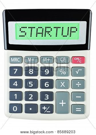 Calculator With Startup