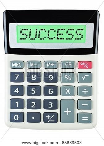 Calculator With Success