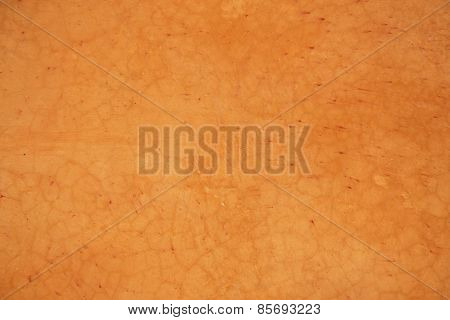 Orange grunge concrete wall textured and background.