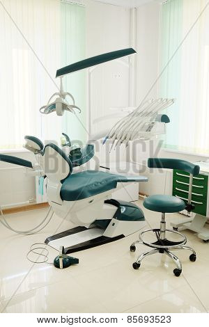 Interior of a dentist consulting room