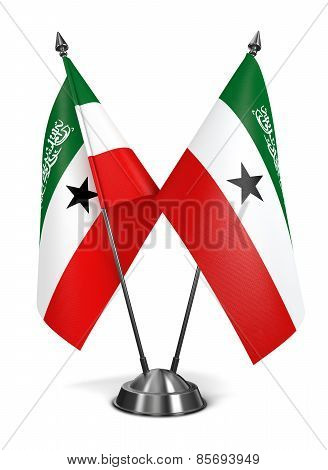 Somaliland - Miniature Flags.