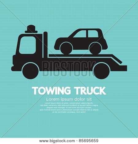 Car Towing Truck.