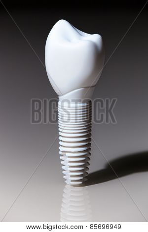 Models of dental  implants