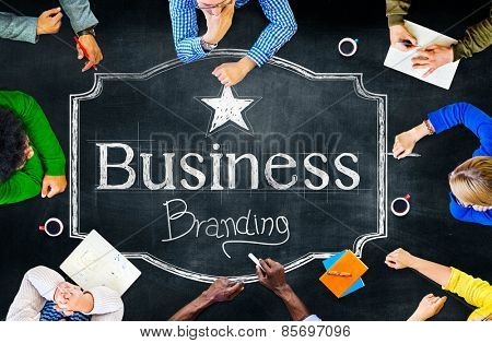 Branding Business Trademark Marketing Commercial Concept
