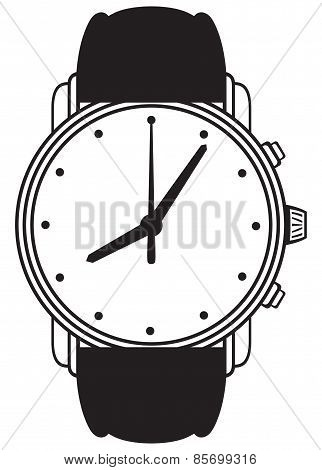 Symbol wristwatch