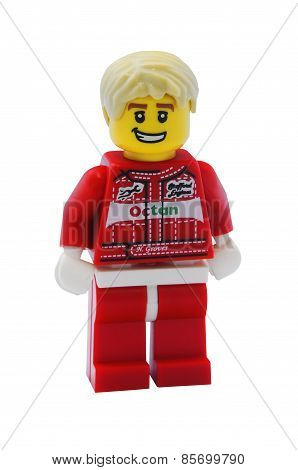 Race Car Driver Minifigure