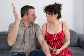 picture of hurt  - A couple quarrel - JPG