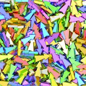 pic of compose  - Background composed of many colorful small arrows - JPG