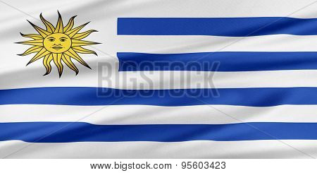 Uruguay Flag.